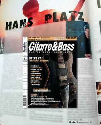 Gitarre&Bass 11/2013