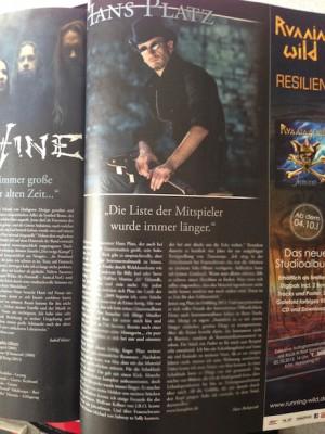 Artikel in Orkus 10/2013